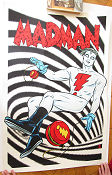 Limited litho MADMAN No 96 of 170 2014 poster