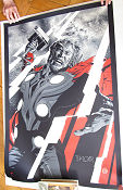 Limited litho THOR Mondo Phantom City Creative No 72 of 120 2012 poster