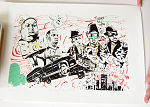 Limited Litho Brooklyn Queens Signed 2009 poster
