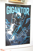 Limited litho GIGANTOR No 70 of 75 1992 poster