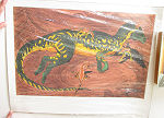 Limited litho CRYLOPHOSAURUS Signed No 390 of 500 1996 poster