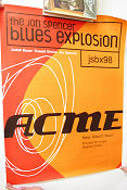 JSBX98 Jon Spencer Blues Explosion ACME CD 1998 poster Jon Spencer