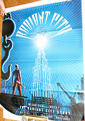 Mister X Radiant City Story Signed 2011 poster