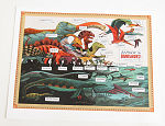 Behold the Dinosaurs Signed 2011 poster