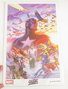 Captain America Signed 2014 poster