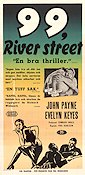 99 River Street 1954 Movie poster John Payne Phil Karlson