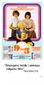 9 to 5 1980 Movie poster Jane Fonda