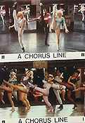 A Chorus Line 1985 Lobby card set Michael Bennett Richard Attenborough