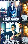 A Civil Action 1998 Lobby card set John Travolta