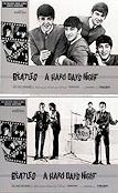 A Hard Day's Night 1964 lobby card set Beatles Richard Lester