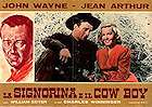 A Lady Takes a Chance 1943 Movie poster John Wayne