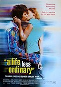 A Life Less Ordinary 1997 Movie poster Ewan McGregor