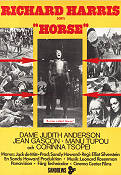 A Man Called Horse 1970 poster Richard Harris