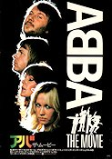 ABBA the Movie 1977 Movie poster ABBA Lasse Hallström