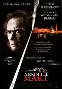 Absolute Power 1997 poster Gene Hackman Clint Eastwood