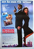 Action Jackson 1988 Movie poster Carl Weathers