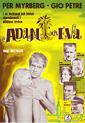 Adam och Eva 1963 Movie poster Per Myrberg �ke Falck