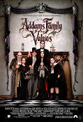Addams Family Values 1993 Movie poster Anjelica Huston