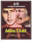 Adieu l'ami 1968 Movie poster Alain Delon