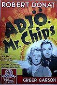 Goodbye Mr Chips 1939 poster Robert Donat
