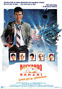 The Adventures of Buckaroo Banzai 1984 Movie poster Peter Weller
