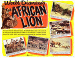 The African Lion 1955 Movie poster