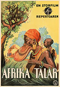 Africa Speaks 1931 poster Paul L Hoefler