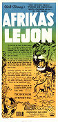 The African Lion 1956 poster