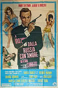 From Russia with Love 1964 poster Sean Connery Terence Young