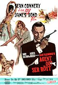From Russia with Love 1964 Movie poster Sean Connery Terence Young