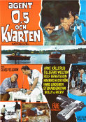 Agent 0.5 och kvarten 1968 Movie poster Arne K�llerud Claes Fellbom