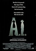 A.I. Artificial Intelligence 2001 Movie poster Haley Joel Osment Steven Spielberg