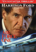 Air Force One 1997 Movie poster Harrison Ford
