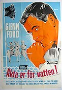 Don´t Go Near the Water 1958 poster Glenn Ford