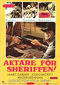 Support Your Local Sheriff 1969 poster James Garner Burt Kennedy