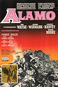 The Alamo 1960 John Wayne Richard Widmark Finland