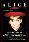 Alice 1990 Movie poster Mia Farrow Woody Allen