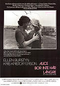 Alice doesn't Live Here Any More 1975 poster Ellen Burstyn Martin Scorsese