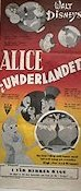 Alice in Wonderland 1950 poster Disney