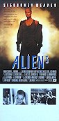 Alien 3 1994 Movie poster Sigourney Weaver
