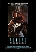 Aliens 1986 Movie poster Sigourney Weaver James Cameron