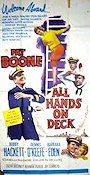 All Hands on Deck 1961 poster Pat Boone