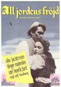 All jordens fr�jd 1953 Movie poster Ulla Jacobsson Rolf Husberg
