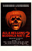 Halloween 2 1981 poster Jamie Lee Curtis John Carpenter