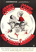 Three on a Couch 1966 poster Jerry Lewis