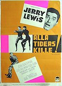 Visit to a Small Planet 1960 poster Jerry Lewis