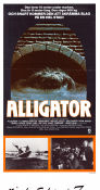 Alligator 1980 poster Robert Forster Lewis Teague