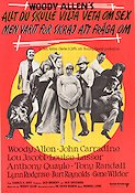 Everything You Always Wanted to Know About Sex 1972 poster John Carradine Woody Allen