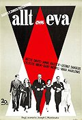 All About Eve 1950 poster Bette Davis Joseph L Mankiewicz