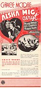 Love Me Forever 1935 poster Grace Moore